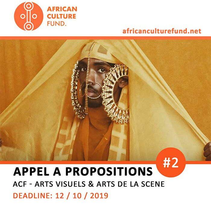 APPEL A PROPOSITIONS #2-ACF – ARTS VISUELS & ARTS DE LA SCENE
