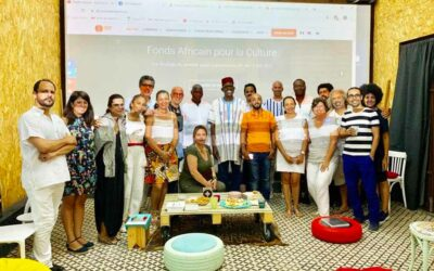 VISIT OF THE TUNISIAN ARTISTIC AND CULTURAL FIELD BY ADMINISTRATORS OF ACF